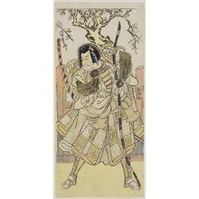 勝川春好: Actor Ichikawa Danjuro V as Kamakuro Gongoro - ボストン美術館