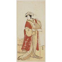 勝川春好: Actor Segawa Kikunojo III - ボストン美術館