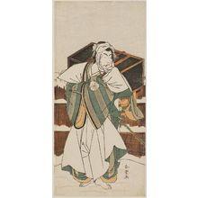 Katsukawa Shunjô: Actor Matsumoto Kôshirô IV as Ise no Saburô - ボストン美術館