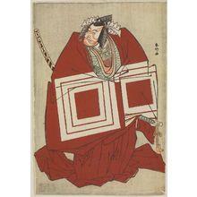 Katsukawa Shunko: Actor Ichikawa Danjûrô V in Shibaraku - Museum of Fine Arts