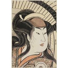 勝川春好: Actor Iwai Hanshiro IV - ボストン美術館