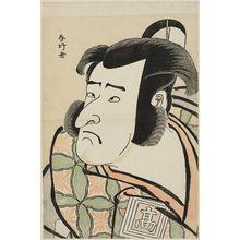 勝川春好: Actor Ichikawa Komazô II as Izu no Jirô - ボストン美術館