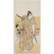 Katsukawa Shunjô: Actor Ichikawa Monnosuke II - ボストン美術館