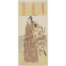 Katsukawa Shunjô: Actor Nakamura Nakazo as Kudo Suketsune - ボストン美術館