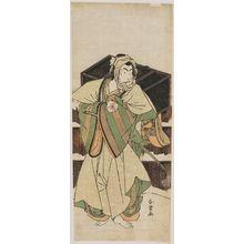 Katsukawa Shunjô: Actor Matsumoto Koshiro IV as Ise no Saburo - ボストン美術館