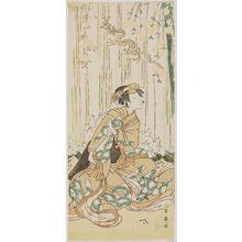 Katsukawa Shun'ei: Actor Nakamura Noshio II as Yuki-hime - Museum of Fine Arts