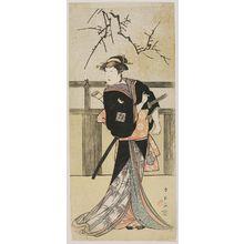 Katsukawa Shun'ei: Actor Ichikawa Monnosuke - Museum of Fine Arts