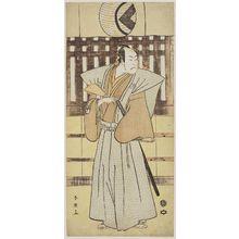 勝川春英: Actor Bandô Hikosaburô III - ボストン美術館