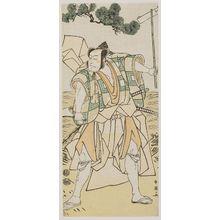 Katsukawa Shun'ei: Actor Ichikawa Ebizo IV (?) - Museum of Fine Arts