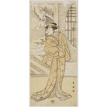勝川春英: Actor Iwai Hanshirô - ボストン美術館