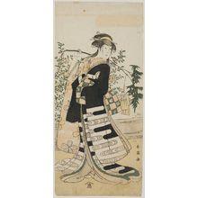 Katsukawa Shun'ei: Actor Iwai Hanshiro - Museum of Fine Arts
