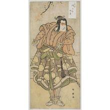 勝川春英: Actor Ichikawa Monnosuke II - ボストン美術館