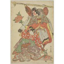 Katsukawa Shun'ei: Actors Ichikawa Danjûrô V and Iwai Hanshiro IV - Museum of Fine Arts