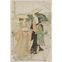 Kitagawa Utamaro: Act VIII (Hachidanme), from the series The Chûshingura Drama Parodied by Famous Beauties: A Set of Twelve Prints (Kômei bijin mitate Chûshingura jûnimai tsuzuki) - Museum of Fine Arts