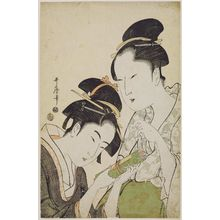Kitagawa Utamaro: Okita and Ofuji - Museum of Fine Arts