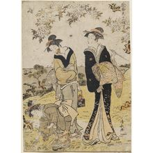 Torii Kiyonaga: The Fourth Month (Shigatsu), from the series Twelve Months in the South (Minami jûni kô) - Museum of Fine Arts