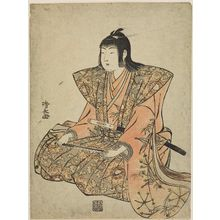 Torii Kiyonaga: Chanter, from an untitled set of Five Musicians (Gonin-bayashi) - Museum of Fine Arts