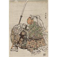 Torii Kiyonaga: Ushiwakamaru and Benkei - Museum of Fine Arts