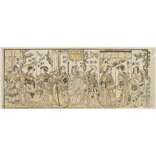Torii Kiyonaga: Nine Actors in Eight Scenes - Museum of Fine Arts