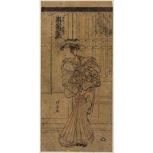Torii Kiyonaga: Actor Segawa Kikunojô III as Nuregami no Koshizuka - Museum of Fine Arts