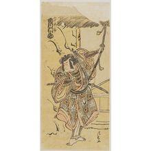 Torii Kiyonaga: Actor Ichikawa Monnosuke II as Yamanaka Shikanosuke - Museum of Fine Arts