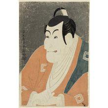 東洲斎写楽: Actor Ichikawa Ebizô as Takemura Sadanoshin - ボストン美術館