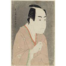 Toshusai Sharaku: Actor Ichikawa Monnosuke II as Date no Yosaku - Museum of Fine Arts