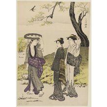 窪俊満: Tea Cultivation at Uji - ボストン美術館
