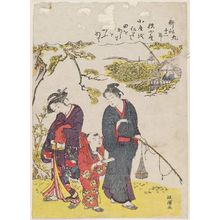 Kitao Masanobu: No. 9, Aki koya, from the series Twelve Seasons of Agriculture (Kôsaku jûni setsu) - ボストン美術館