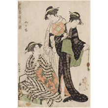 Kitao Masanobu: Flowers of Yamashita (Yamashita no hana), from the series Comparing the Charms of Modern Beauties (Tôsei bijin irokurabe) - Museum of Fine Arts