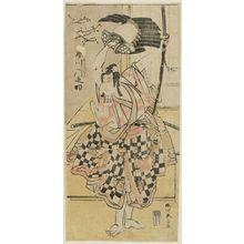 勝川春山: Actor Ichikawa Monnosuke - ボストン美術館