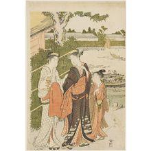 Katsukawa Shunzan: Excursion to Mukôjima - Museum of Fine Arts