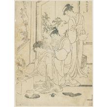 Katsukawa Shunzan: from the series The Five Virtues in the Manners of Women (Fûzoku onna gojô) - Museum of Fine Arts