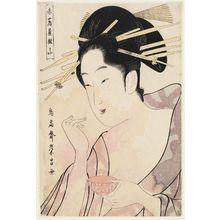 鳥高斎栄昌: Rinzan of the Akatsutaya - ボストン美術館