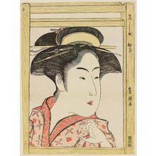 Utagawa Toyokuni I: Takashima Ohisa - Museum of Fine Arts