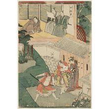 Utagawa Toyokuni I: Chûshingura: Acts 3 and 4 - Museum of Fine Arts
