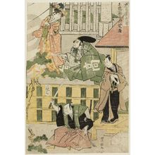 Utagawa Toyokuni I: Acts I and II (Daijo, nidanme), from the series The Storehouse of Loyal Retainers (Chûshingura) - Museum of Fine Arts