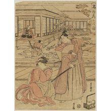 Utagawa Toyokuni I: Act II (Nidanme), from the series The Storehouse of Loyal Retainers (Chûshingura) - Museum of Fine Arts