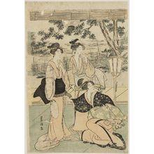 Utagawa Toyokuni I: Three women - Museum of Fine Arts
