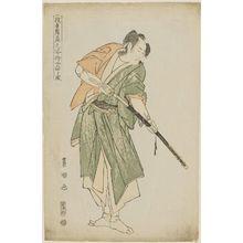 Utagawa Toyokuni I: Yamatoya (Actor Bandô Mitsugorô II as Ishii Genzo), from the series Portraits of Actors on Stage (Yakusha butai no sugata-e) - Museum of Fine Arts