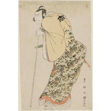 Utagawa Toyokuni I: (Actor Nakamura Nakazô II as Kudô Suketsune), from the series Portraits of Actors on Stage (Yakusha butai no sugata-e) - Museum of Fine Arts