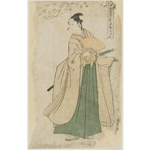 Utagawa Toyokuni I: Yamatoya (Actor Iwai Hanshirô IV as Shirai Gonpachi), from the series Portraits of Actors on Stage (Yakusha butai no sugata-e) - Museum of Fine Arts