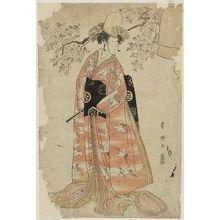Utagawa Toyokuni I: Actor Nakamura Noshio II as a Shirabyôshi Dancer - Museum of Fine Arts