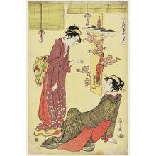 細田栄之: Kinryûzan Temple at Asakusa (Kinryûzan), from the series Famous Places Represented by Sake Cups (Meisho sakazuki awase) - ボストン美術館