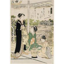 細田栄之: Kuronushi, from the series Six Poetic Immortals (Rokkasen) - ボストン美術館