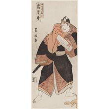 Utagawa Toyokuni I: Actor Ichikawa Danjûrô VI as Agemaki no Sukeroku - Museum of Fine Arts