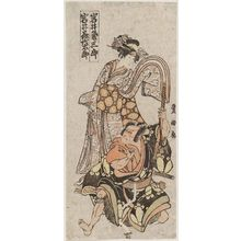 Utagawa Toyokuni I: Actors Iwai Kumesaburô and Iwai Kiyotarô - Museum of Fine Arts