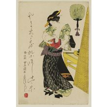 Utagawa Toyokuni I: Woman and Child - Museum of Fine Arts