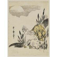 Kitagawa Utamaro: Hares in Moonlight - Museum of Fine Arts
