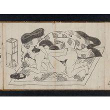 西川祐信: Erotic Prints - ボストン美術館